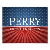 Rick Perry Running in the GOP Presidency