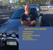 Craig: Man With Ute & Trailer
