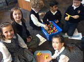 1st Graders share the Christmas Story with Legos