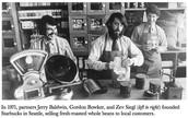 Gordon Barker- Co Founder of Starbucks