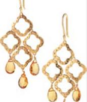 Signature Clover Drop Earrings