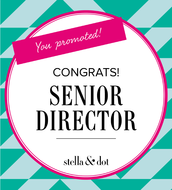 BOTH PROMOTED TO SENIOR DIRECTOR AS WELL!!