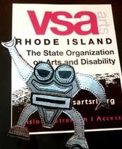 VSA arts RI is featured non-profit at The Flea: Sunday July 27!