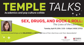 TempleTalks: Sex, Drugs, and Rock & Roll