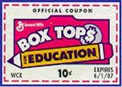 WE NEED MORE BOX TOPS!!