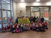 Buddy Classes Raise Money for Outdoor Learning Environment