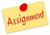 Lesson 2 Assignments are DUE no later than Sunday (9/18) by 11:59pm