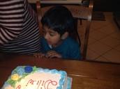 Dilraj's Fifth Birthday