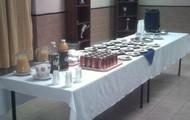 Mesa de alimentos