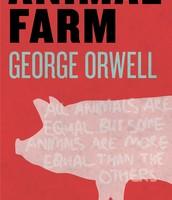 The novel, Animal Farm