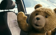 Ted driving