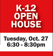 NEXT STEP Open House October 27th