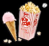 Popcorn & Ice Cream