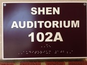 Relax in the Shen Auditorium!