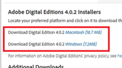 Choose the version that you want to download.