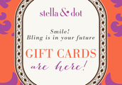 We Now Have Gift Cards!!