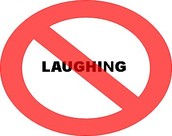 No Laughing, Shouting, Or Clapping