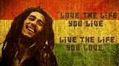 We chose Bob Marley because....