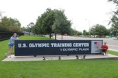 I visited the US Olympic Training Center