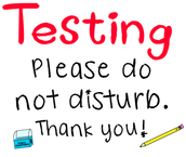 STAAR Testing, No Visitors