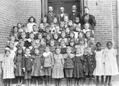 School Children Ready for Class