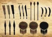 Aztec weapons