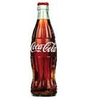 A unique Coke bottle.