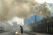 The Cause of China's Pollution