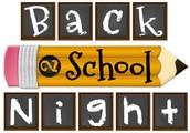 Back to School Night recap