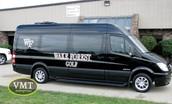 College Athletic Sprinter Van