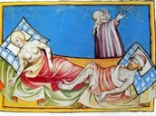 The plague caused warts and bumps on the body.