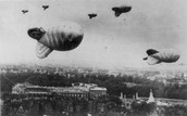 the blimps that were used during War World II.