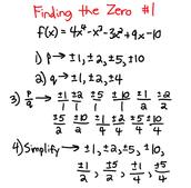 Finding the Zero #1