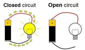 open and closed circuit