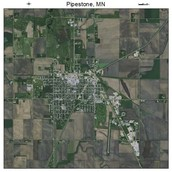 Pipestone from space