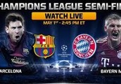 Our special day is coming on Thursday May, 20, at 9pm you don't want to miss it. It's the champion's league Barcelona VS Bayern Munich