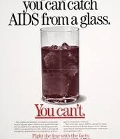 AIDS from a glass?