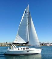 Ocean Sailboat