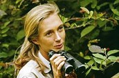 Teenage Jane Goodall