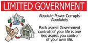Limited Government, States Should Have More Power