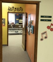 Music Room Entrance