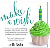 BIRTHDAY REWARDS FOR STYLE REWARDS INSIDERS