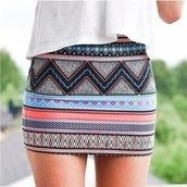 Falda Tribal