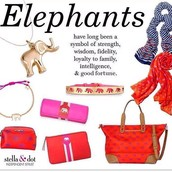 Adorable elephant items