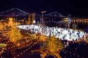 Lace up your skates and join IBA at Penn's Landing