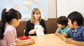 Children in Asia learning English