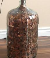 Coin Drop Bottle