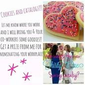 Cookies & Catalogs!