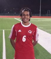 Zafir Patel – Varsity Sophomore, midfielder