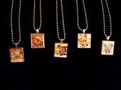Vintage Scrabble Tile Necklaces